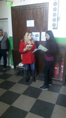 Награждаване II място - Ана Мария - ПГСС Дунавска земя - Ковачица, Лом