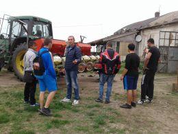 Запознаване с механизма на трактора - ПГСС Дунавска земя - Ковачица, Лом